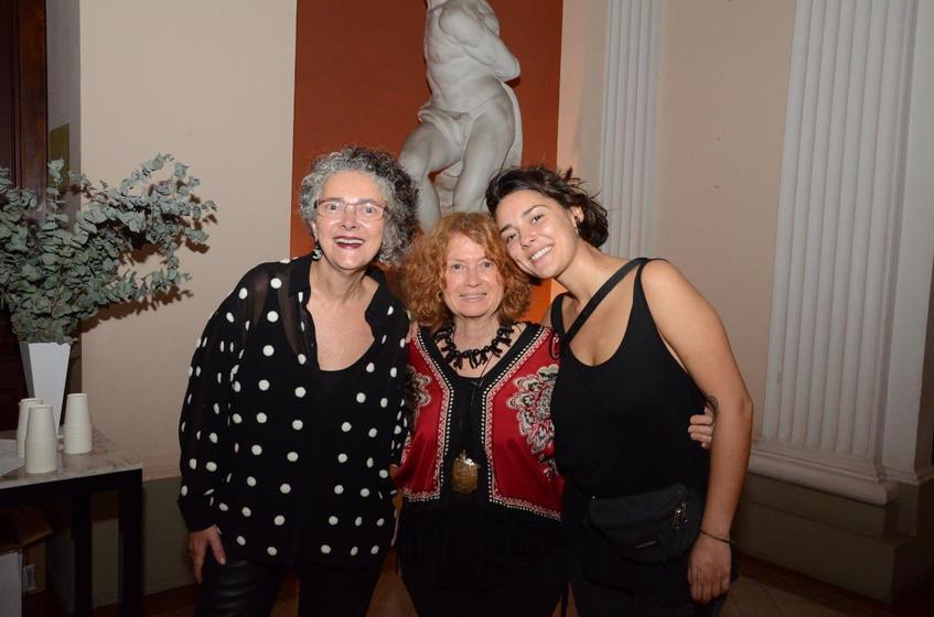 Marize Malta, Josely Carvalho e Nina Mal
