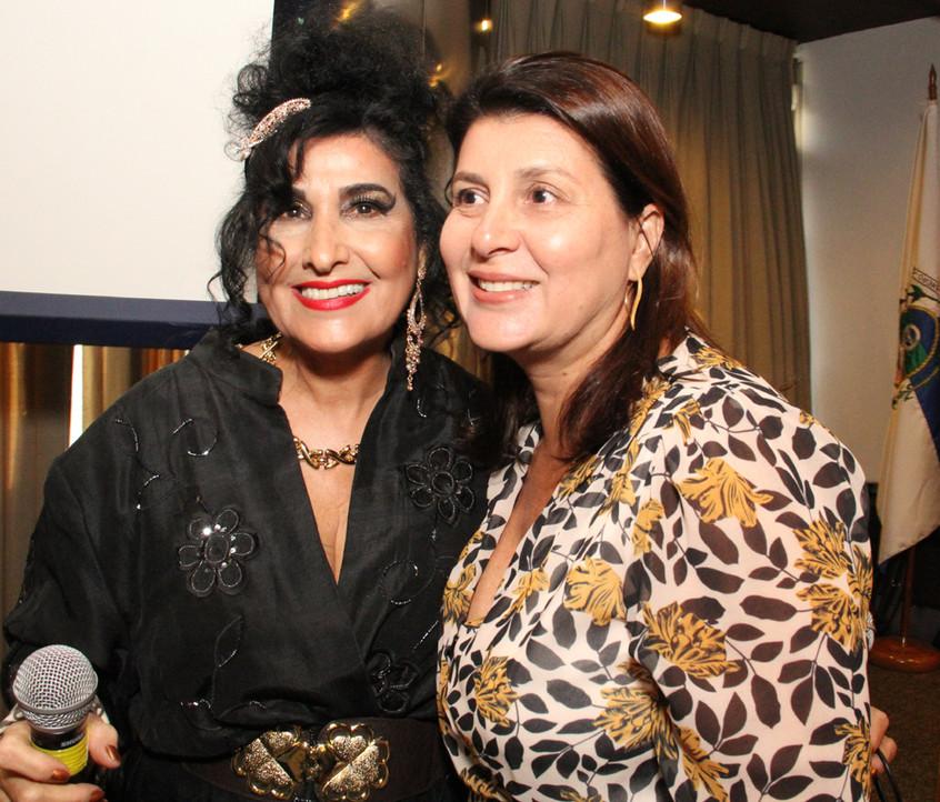 Hanna e Ana Cristina Rosada