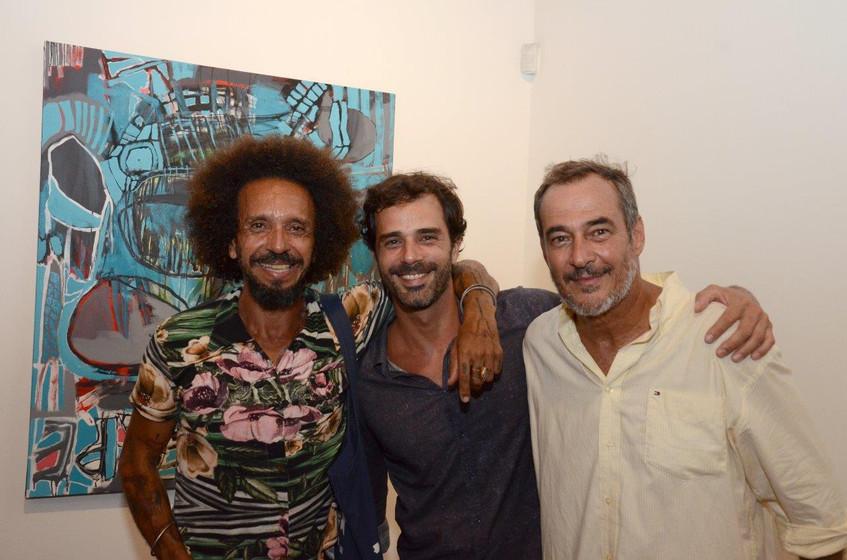 Rona, Sergio Rousselet e Jorge Barata