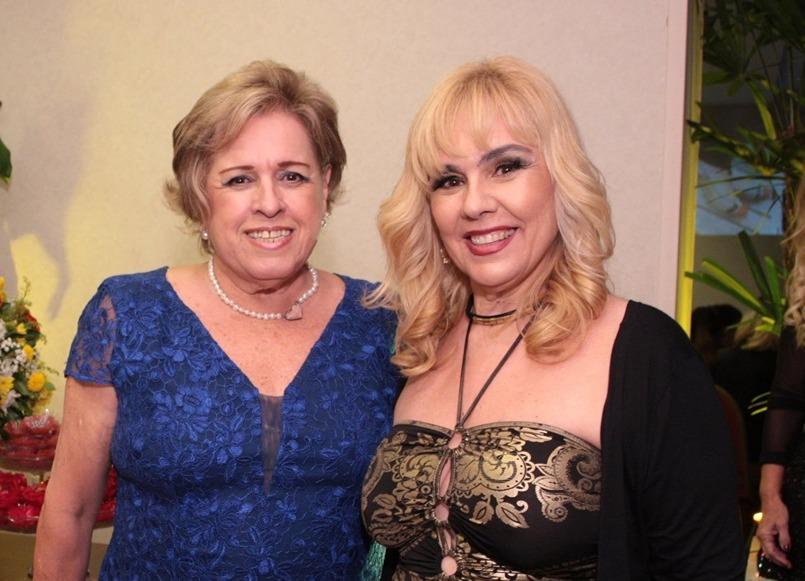 Regina Célia e Marisa Araujo