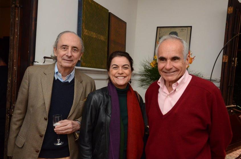 Arnon Elkind, Lilian Fontes e Toni Souza