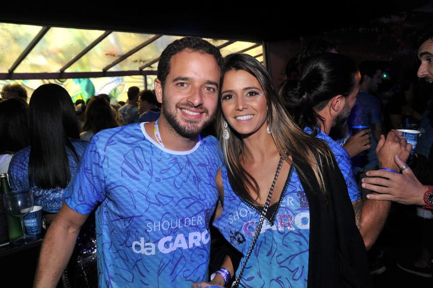 Chico Barbuto e Marina Guedes