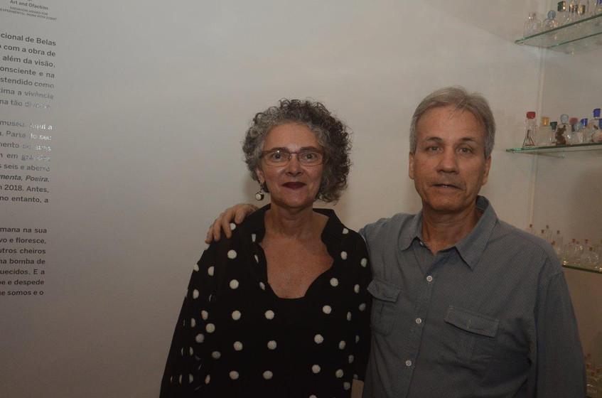 Mariza Malta e Nelson Moreira Junior