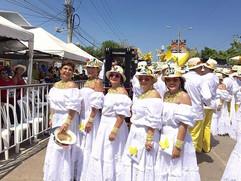 Patricia, Adriana, Charito,Soraya e Fiorella Rivera