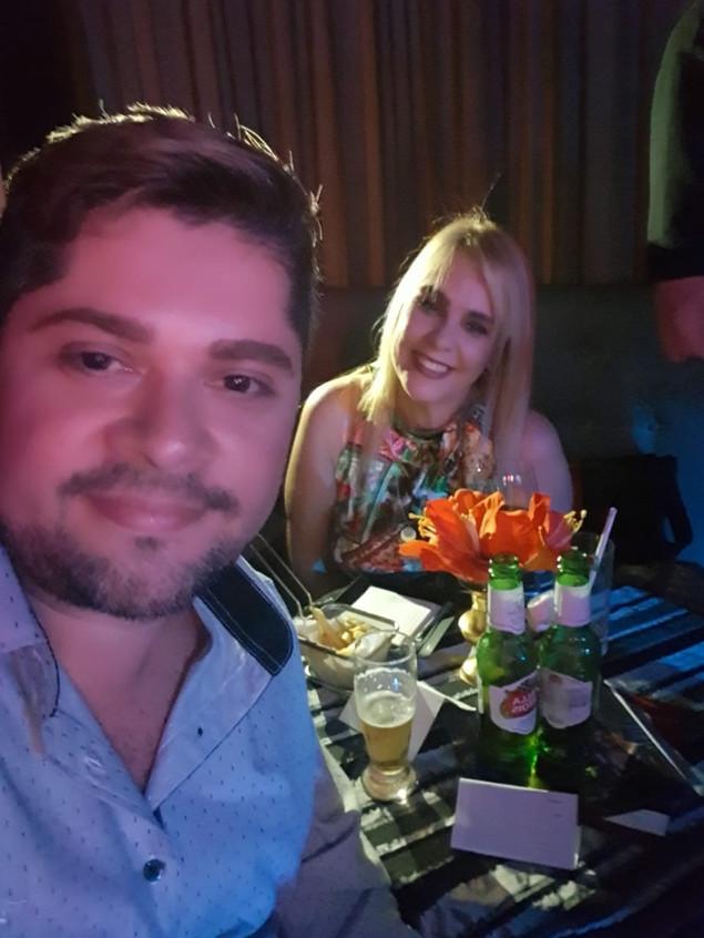 Pablo Roco e Marisa Araujo