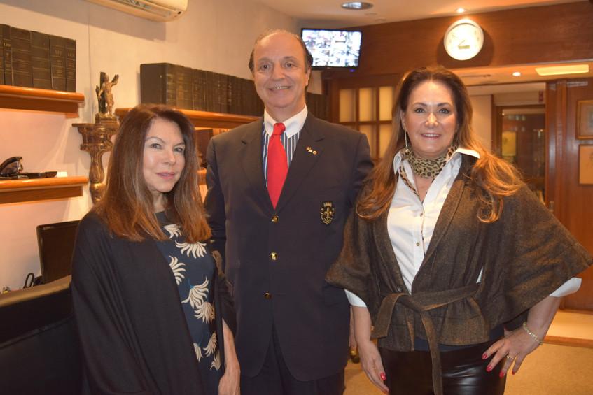 Vera Melo, Mauro Câmara e Cerise