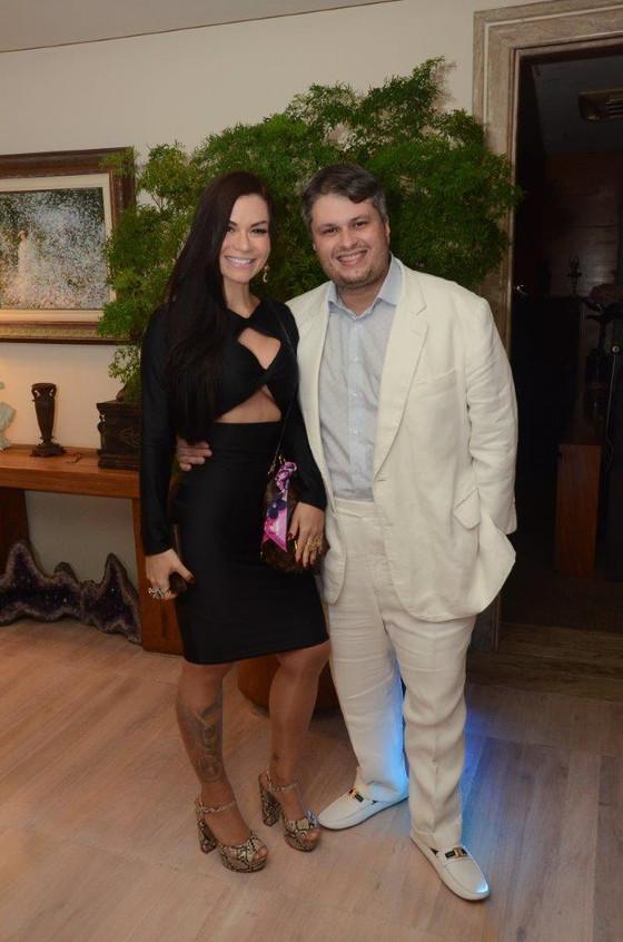 Bruna Vieira e Claudio de Castro