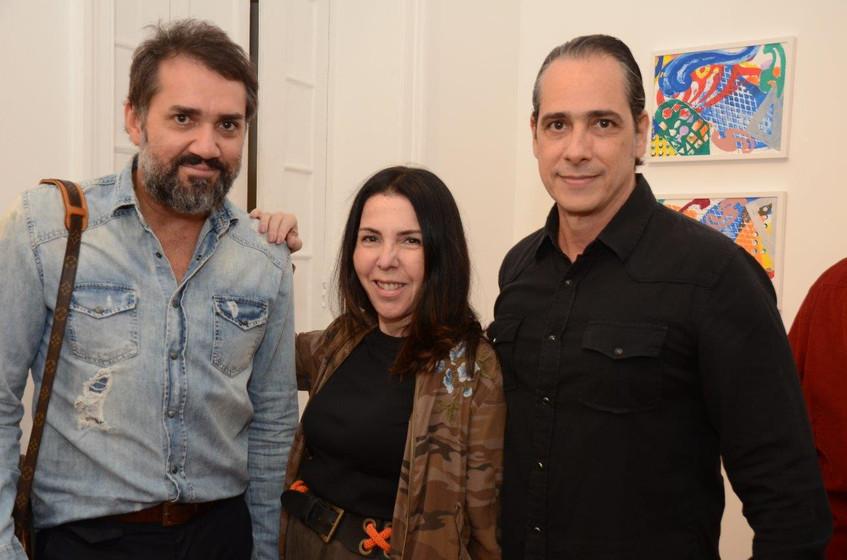 Beto Silva, Paola Ribeiro e Marcelo Cata