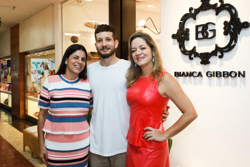 Teresa Gibbon, Felipe Dornelles e Bianca
