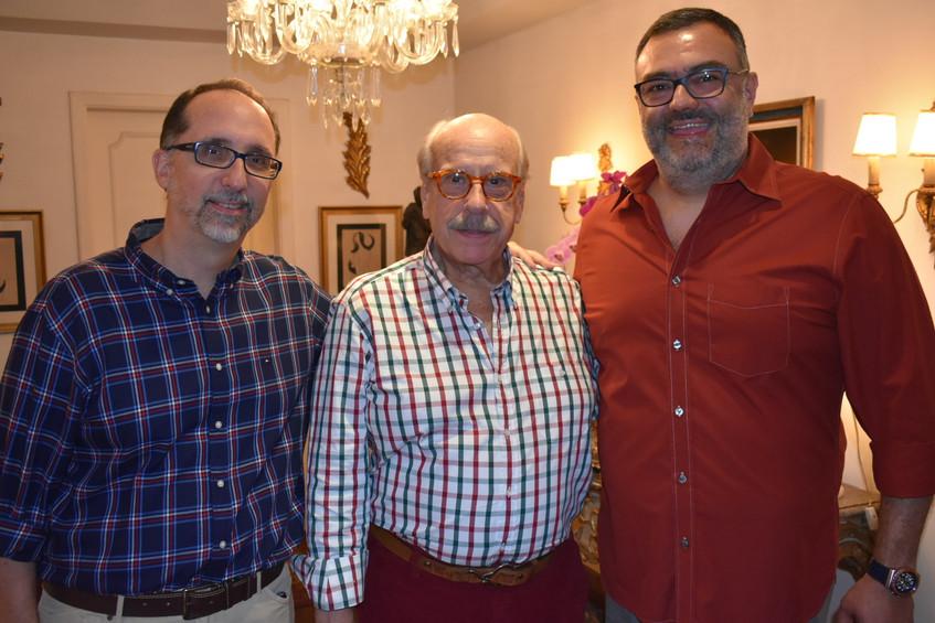 Paulo Rubem, Claudio Aboim e Paulo de Ta