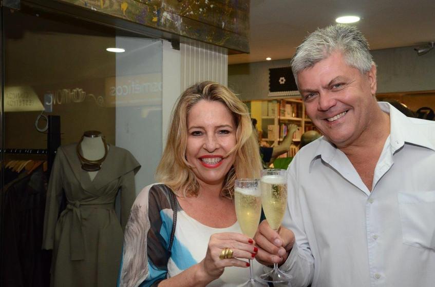 Claudia Sussekind e Ulrich Malohlava