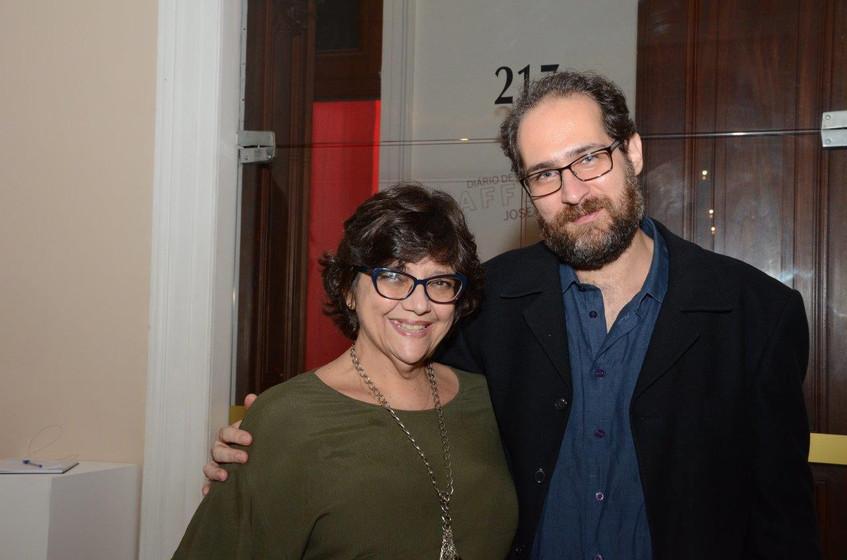 Lucia Ibrahim e Daniel Barretto