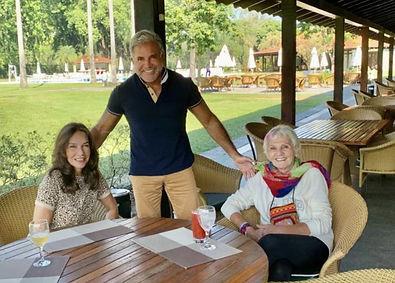 Adriana de Rivera, Enzo Rivera e nossa grande amiga Luzia Ghost