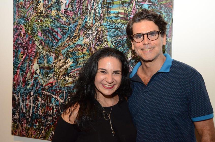 Gabby Mangles e Alexandre Damiano Junior