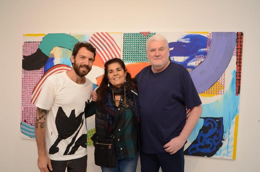 Antonio Bokel, Bia Borges e John Nichols