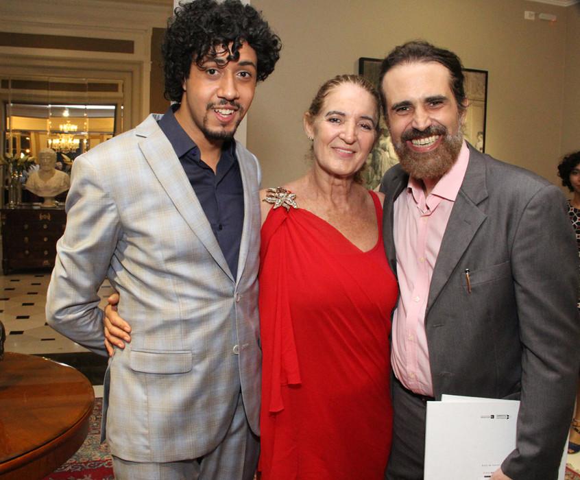 Abyner Gomez , Simone Rodrigues e Christ