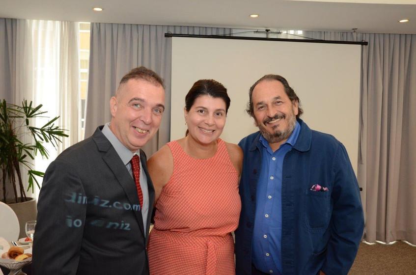 Bayard Boiteux, Anna Cristina Rosado e F