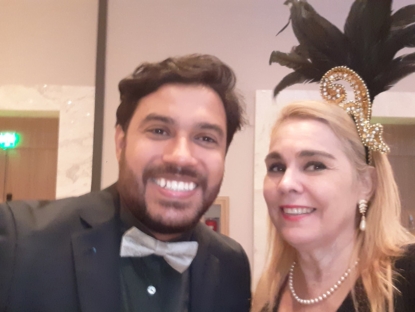 William Isaac e Marisa Araujo
