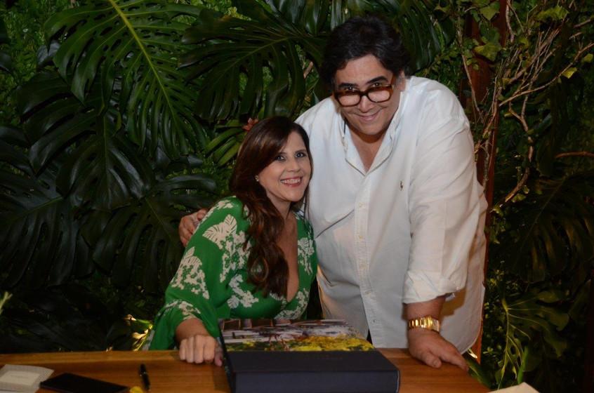Fabienne Bezzera e Antonio Neves da Roch