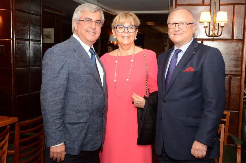 Gilberto Ururahy, Michelle e Michel Lebo