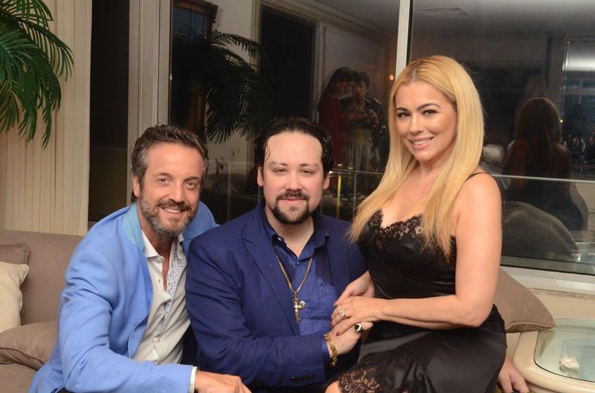 Alexis de Vaulx, Diego Cosac e Ariadne C