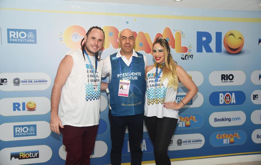 Guiller Cordovil, Marcelo Alves e Paula