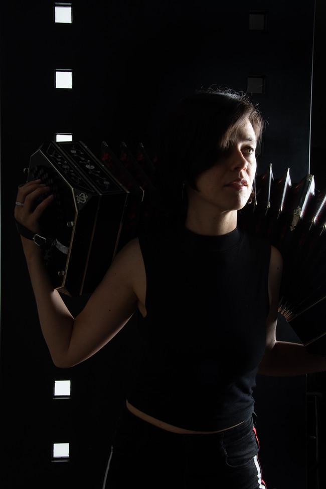 Bandoneon Avantgarde promo picture taken by Laura San Martín