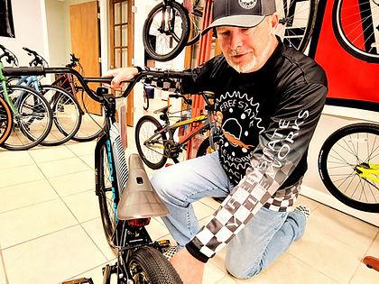 Shawn Davis Free State Cycle Works