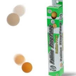 Ping pong: confezione 6 palline arancioni