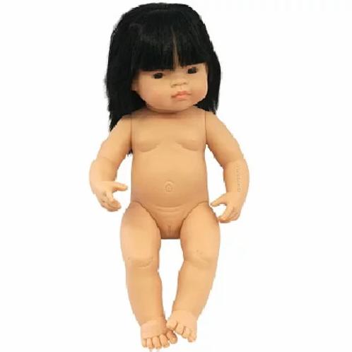 Bambola cm.38 asiatica femmina