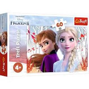 Puzzle 60 pz. Frozen 2