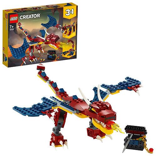 Lego Creator - Drago del fuoco