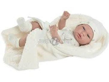 Bambola New Born Elegance Andie Beige 38 cm.