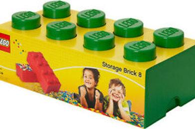 Lego Contenitore per mattoncini verde 50x25 cm.
