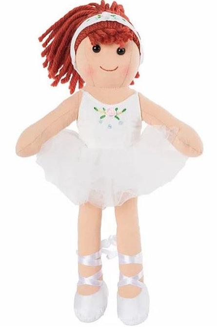 Bambola Ballerina Bianca My Doll -H32  (Tiffany)
