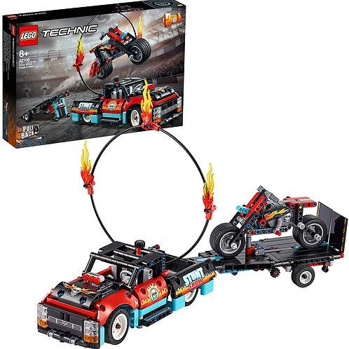 Lego Technic - Truck e moto dello Stunt Show
