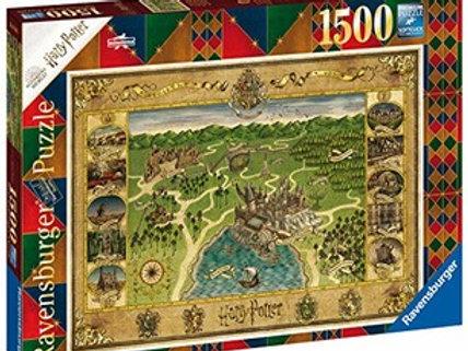 Puzzle 1500 pz. - Mappa di Hogwarts