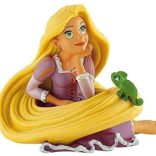 Rapunzel seduta