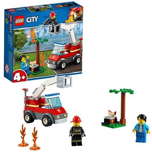 Lego City - Barbecue in fumo