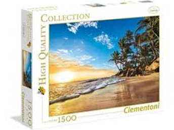 Puzzle 1500 pz. Tropical sunrise