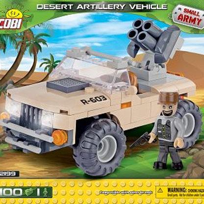 COBI Army 2199 Veicolo di artigleria nel deserto