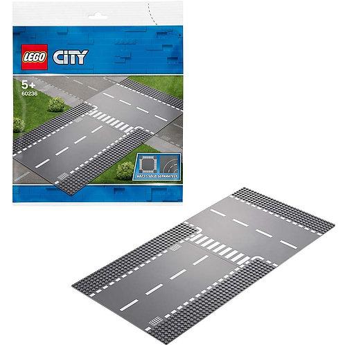 Lego City - Rettilineo e incrocio a T