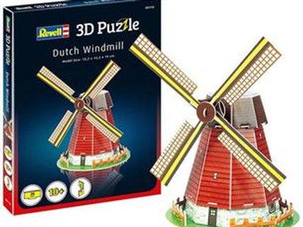 Puzzle 20 pz. 3D - Mulino a vento
