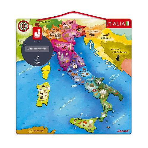 Puzzle magnetico Italia