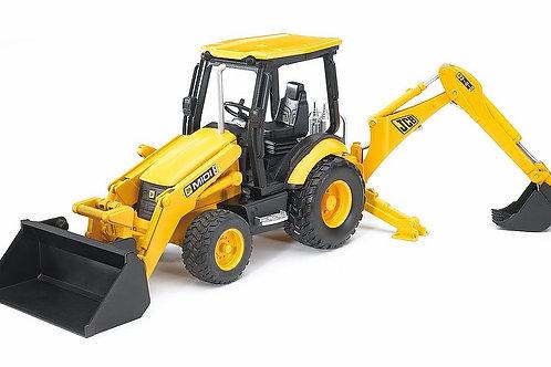 Escavatore con ruspa JCB MIDI CX