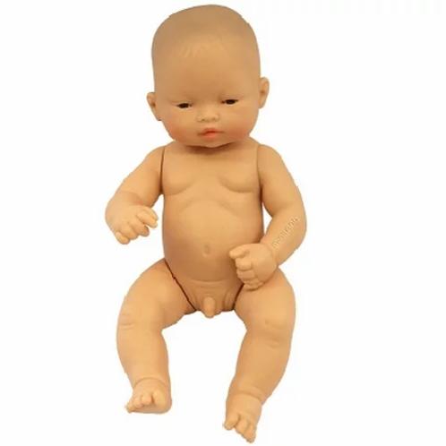 Bambola cm.32 asiatica maschio