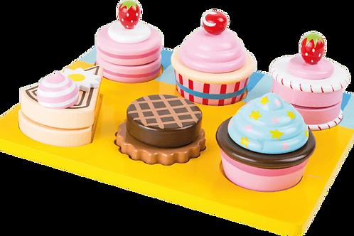 Cupcakes e tortine da tagliare