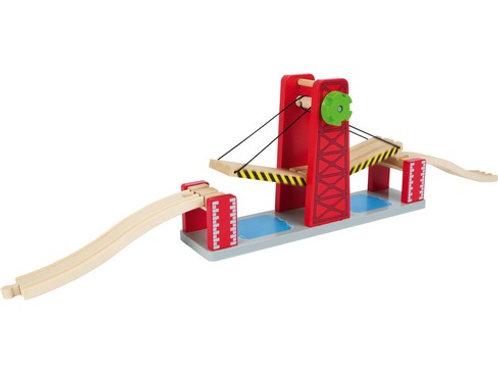 Ponte levatoio di legno