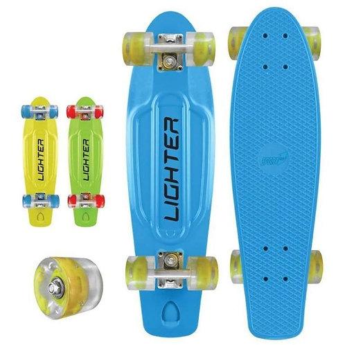 Skateboard plastica PP cm.57 - Ruote con luci -  fino a Kg.100
