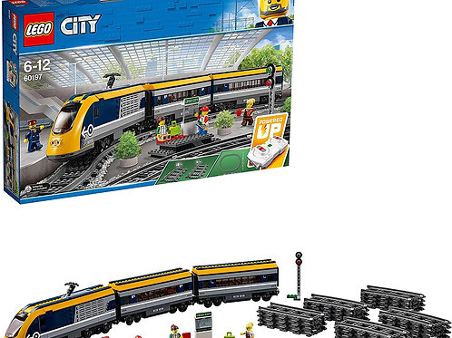 Lego city - Treno passeggeri tetto giallo